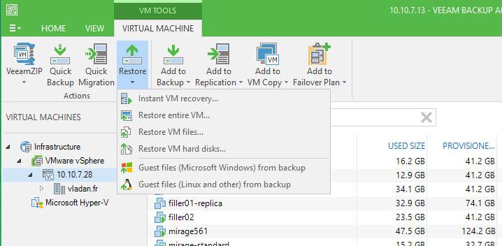 Veeam Backup And Replication