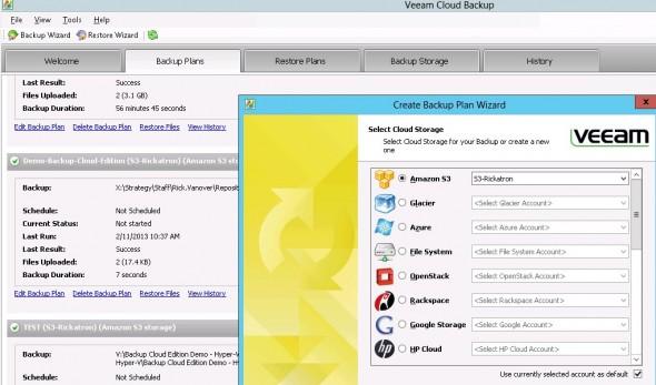 Veeam Backup and Replication - Cloud Editio