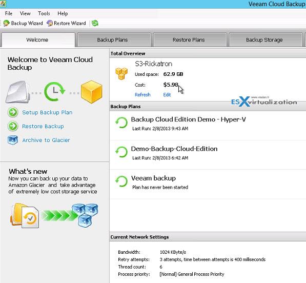 Veeam Backup & Replication Cloud Edition