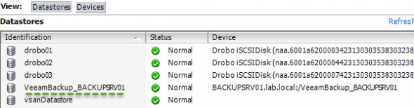 Use Veeam vPower NFS to share sme ISOs for your VMware Infrastructure