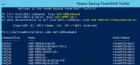 Veeam PowerShell Snapin