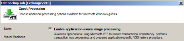 VMware VDP cannot quiesce 2008 R2 Guest OS