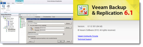 veeam zip Top 5 Free tools for VMware and Hyper V