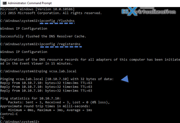 how to change vmware ip address