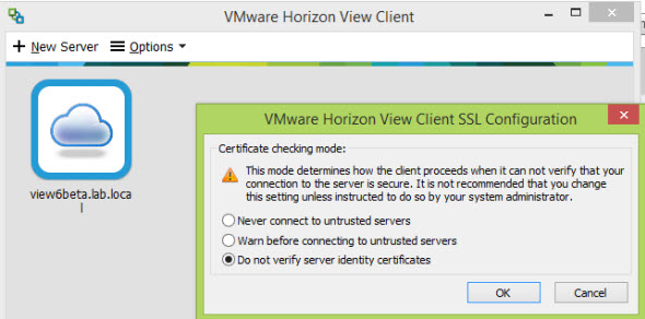 view client1 How to add RDS functionality to Horizon View 6