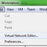 New Virtual Network Editor in VMware Workstation 7