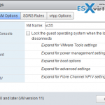 VCP6-DCV Objective 10.1 – Configure Advanced vSphere Virtual Machine Settings