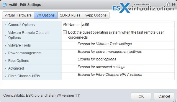 VCP6-DCV Objective 10 1 - Configure Advanced vSphere Virtual Machine