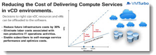Reducing the cost of delivering compute services in VMware vCD environments