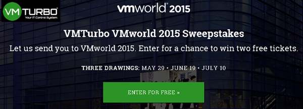 Win 2 entries for VMworld 2015