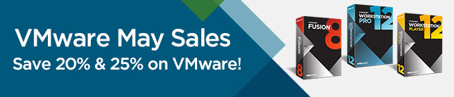 VMware Sale - May 2016