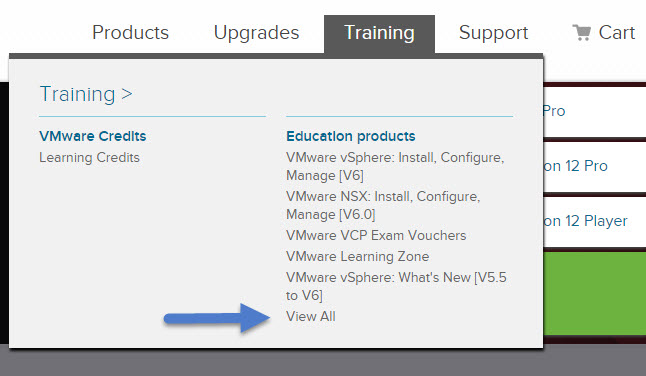 VMware Training Course Discount