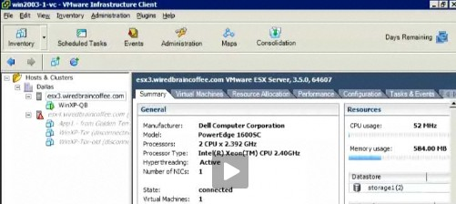 vmware video Step by step video how to install VM inside Virtual Infrastructure