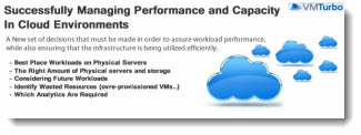 vmwturbo managing performance Free Technical PDFs