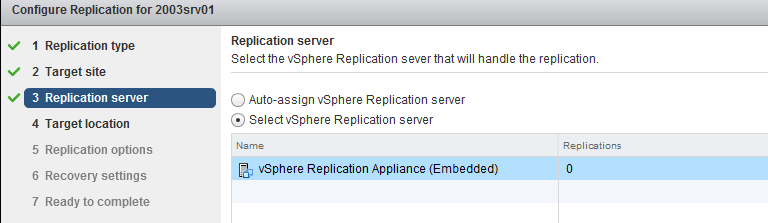 vSphere Replication Install config guide