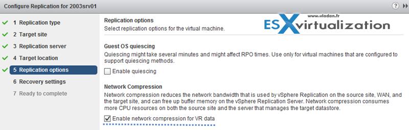 vSphere Replication Install config guide