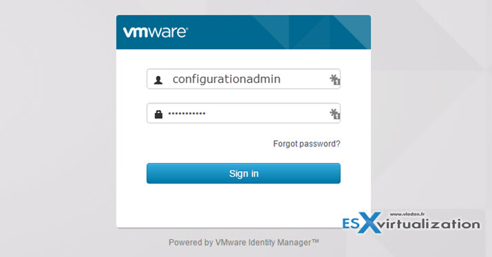 vRealize Automation 7 - simple install