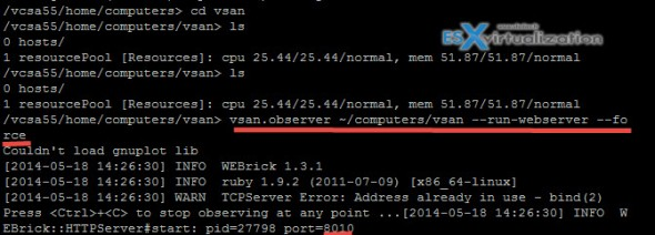 VSAN Observer - How to install