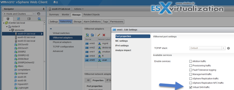 Enable VMware VSAN