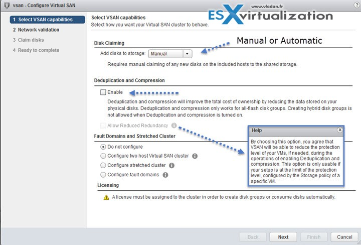 VMware VSAN 6.2 with a new assistant