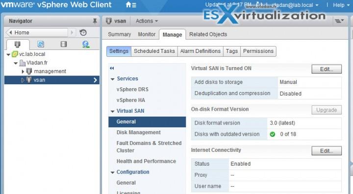 VMware VSAN 6.2 Assistant