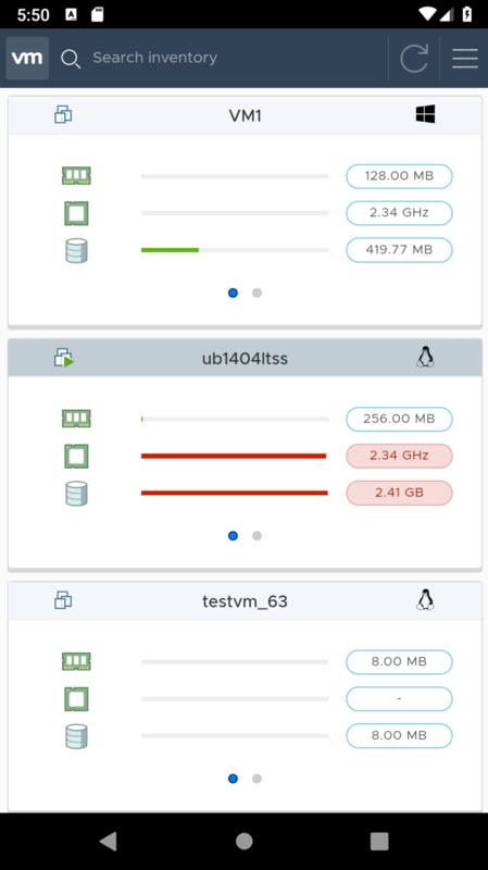 vSphere Mobile Client - Free Tool Download | ESX Virtualization