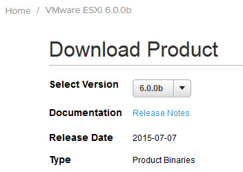 vSphere 6b and ESXi 6b Download