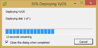 VyOS - Vyatta Open Source   ESX Virtualization