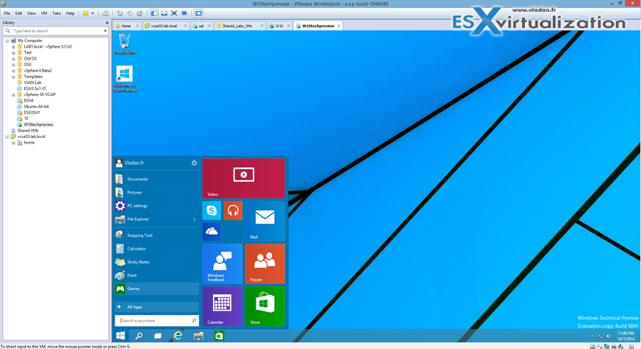 Install Windows 10 in VMware Workstation