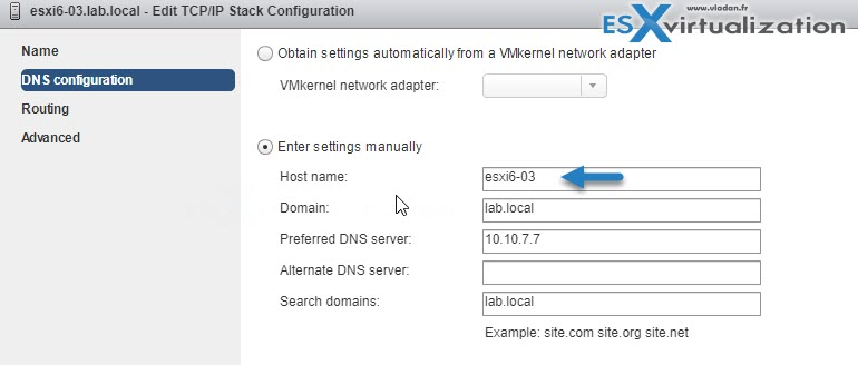 5 Ways to Change Hostname of your ESXi host | ESX Virtualization