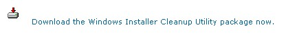 windows installer cleanup package utility How to uninstall completely a VMware product if the uninstall process fails