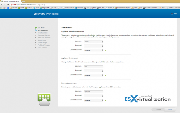 How to install VMware Workspace Portal