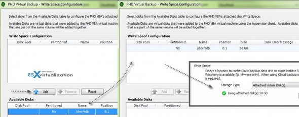 write space config 590x232 PHD Virtual 6.2 CloudHook   Product Review