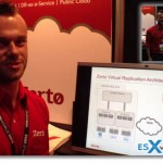 Zerto Virtual Replication Demo – VMworld 2012 Barcelona