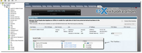 Zerto Virtual Replication 2.0 - Install and configure in my lab
