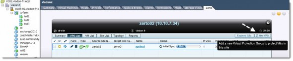 Zerto Virtual Replication 2.0 - Install and configure